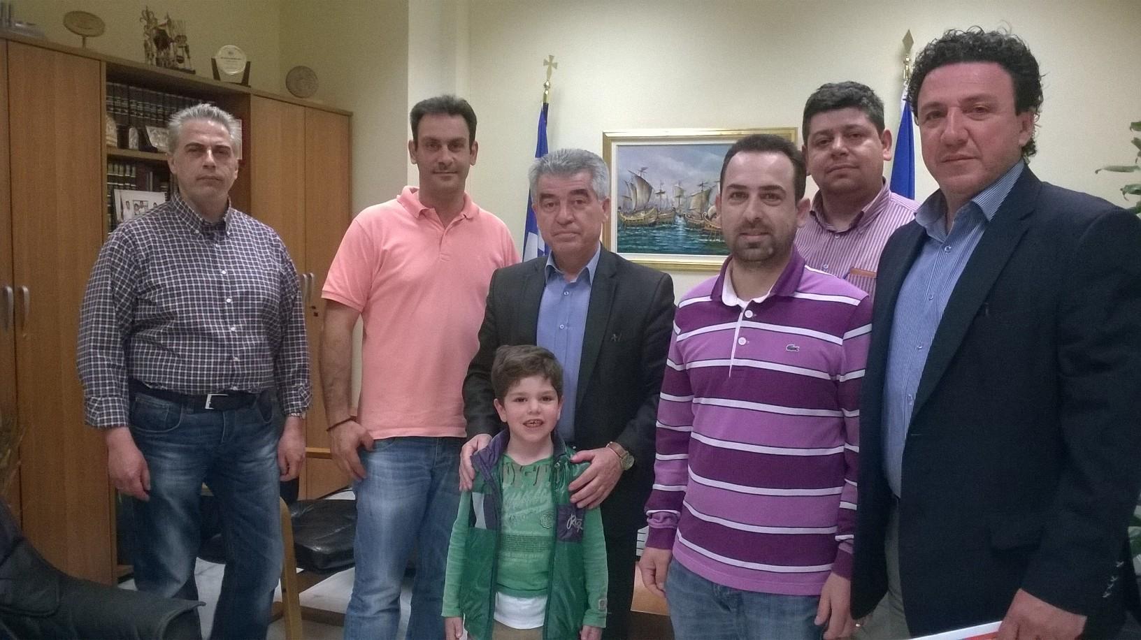 Συνάντηση Δ.Σ. Ε.Σ.Μ. με Δήμαρχο κο Σταμούλη